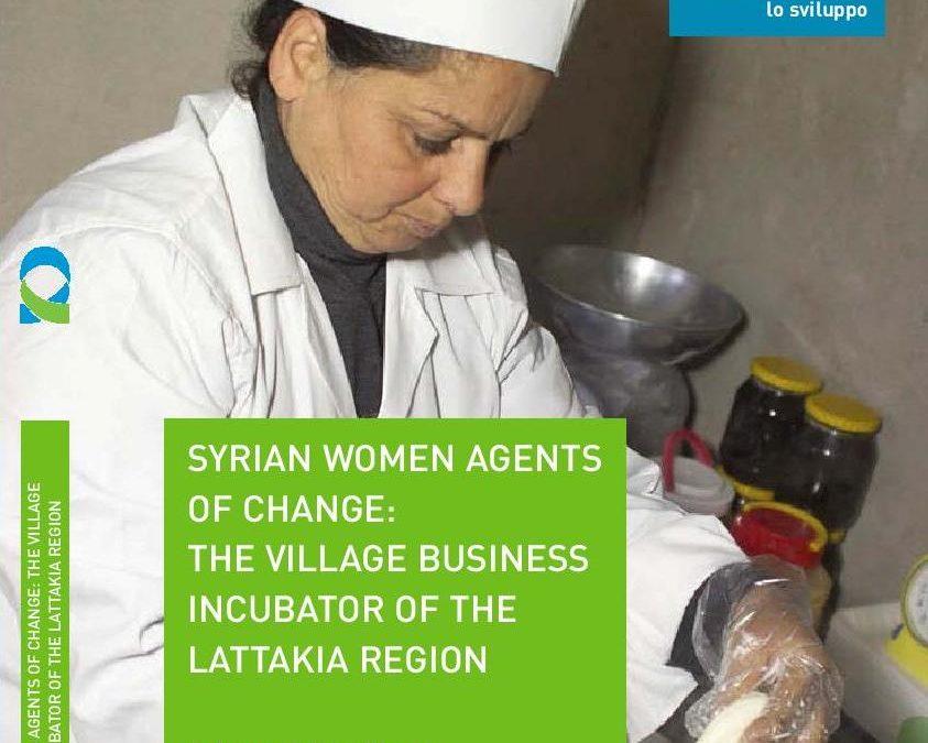 SIRIA: creazione di un Incubatore d'impresa di villaggio  (VBI) per le microimprese femminili