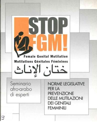 Seminario Afro-arabo di esperti. Norme legislative per la prevenzione delle mutilazioni dei genitali femminili