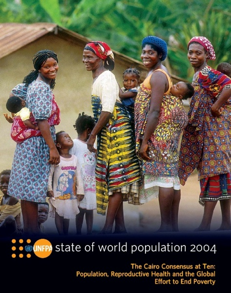 Rapporto UNFPA – Lo stato della popolazione nel mondo 2004. A dieci anni dalla Conferenza del Cairo: popolazione, salute riproduttiva e l'impegno mondiale per eliminare la povertà. Edizione italiana a cura di AIDOS