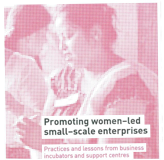 Promoting women-led small-scale enterprises. Practices and lessons from business incubators and support centres in developing countries.