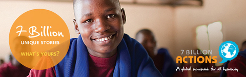 """Giornata mondiale della popolazione: Campagna UNFPA """"7 miliardi di azioni"""""""