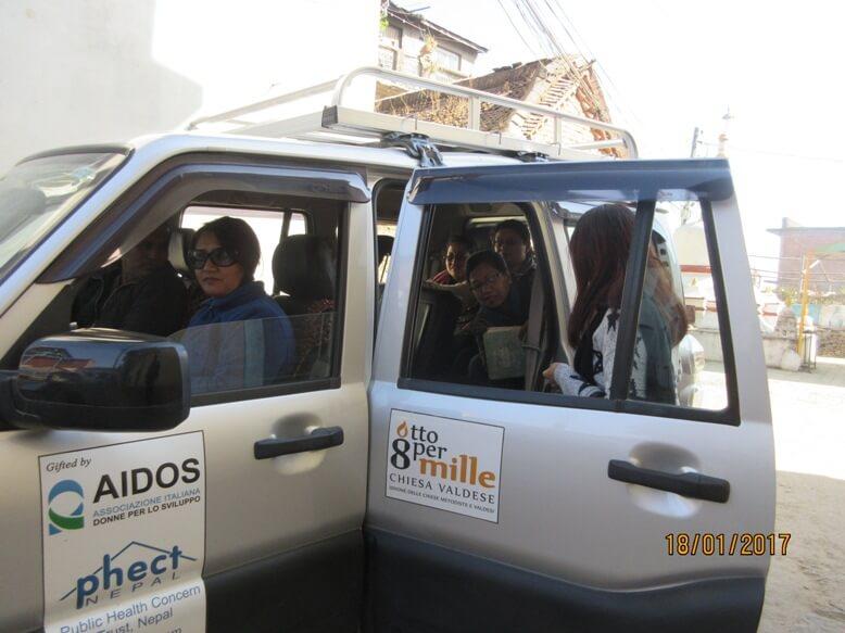 Notizie dal Campo: è arrivato il nuovo pulmino in Nepal