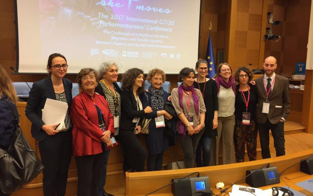 Un anno di G7 – Il lavoro di AIDOS e della società civile