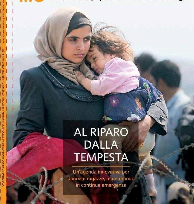 Rapporto UNFPA – Lo stato della popolazione nel mondo 2015: Al riparo dalla tempesta. Un'agenda innovativa per donne e ragazze, in un mondo in continua emergenza. Edizione italiana a cura di AIDOS