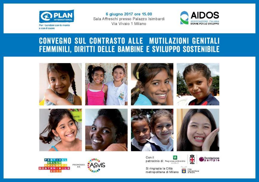 Convegno sul contrasto alle Mutilazioni Genitali Femminili, diritti delle bambine e sviluppo sostenibile