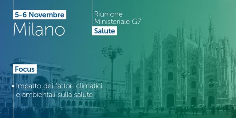 Milano: concluso il G7 salute. Nessun impegno finanziario concreto