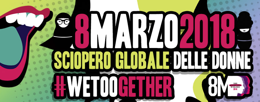 Sciopero globale delle donne #Wetoogether
