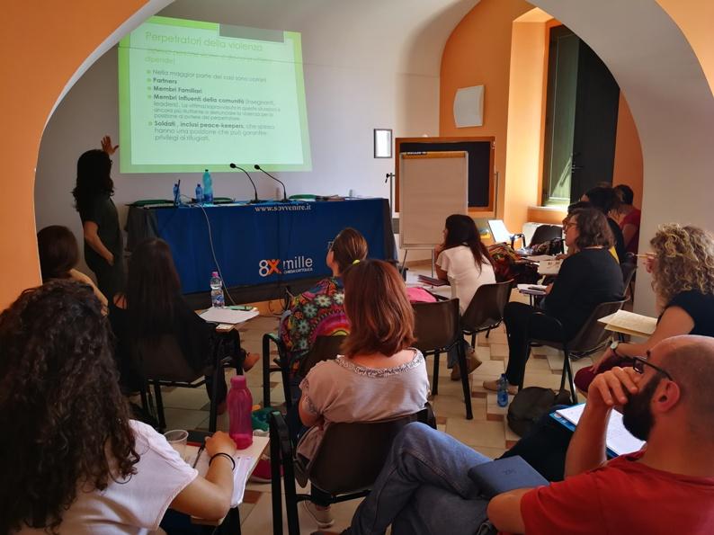 ITALIA – Migliorare l'accoglienza di richiedenti asilo e rifugiati/e che hanno subito violenza, incluse violenza sessuale e mutilazioni genitali femminili (MGF)