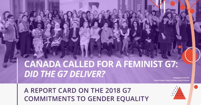 G7 e Gender Equality
