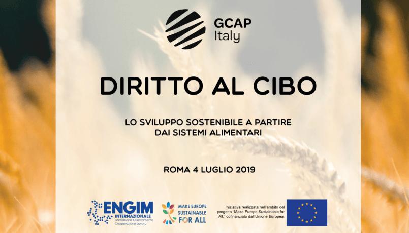 Presentazione Rapporto di Monitoraggio Agenda 2030 di GCAP ITALIA
