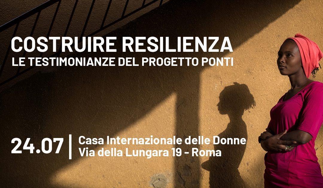 Costruire resilienza, le testimonianze del progetto Ponti