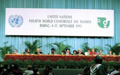 """PECHINO 1995: """"Guardare il mondo con occhi di donna""""…Verso """"PECHINO+25"""""""