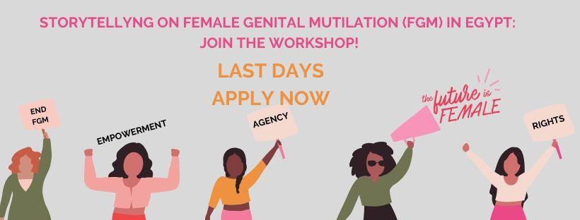 Storytelling e Mutilazioni Genitali Femminili (MGF) in Egitto: partecipa al workshop!