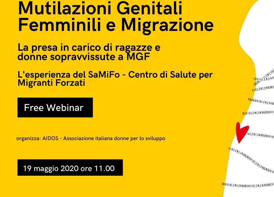Webinar: Female Genital Mutilation and Migration