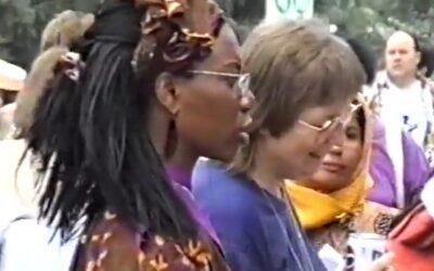 Aidos alla Conferenza delle donne di Pechino, 1995: noi c'eravamo!