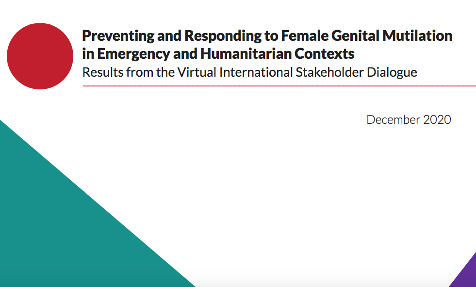 Preventing and Responding to Female Genital Mutilation in Emergency and Humanitarian Contexts