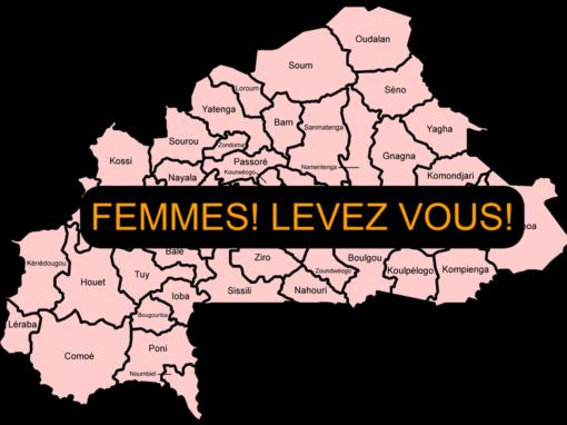FEMMES! LEVEZ VOUS!  Promozione della leadership e della partecipazione delle donne alla vita politica in Burkina Faso