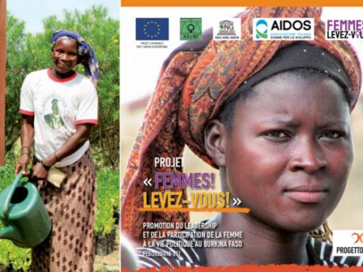 BURKINA FASO – FEMMES! LEVEZ VOUS!  Promozione della leadership e della partecipazione delle donne alla vita politica in Burkina Faso