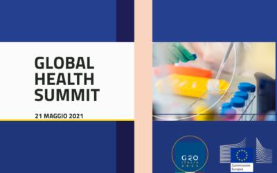 Global Health Summit – Consultazione con società civile