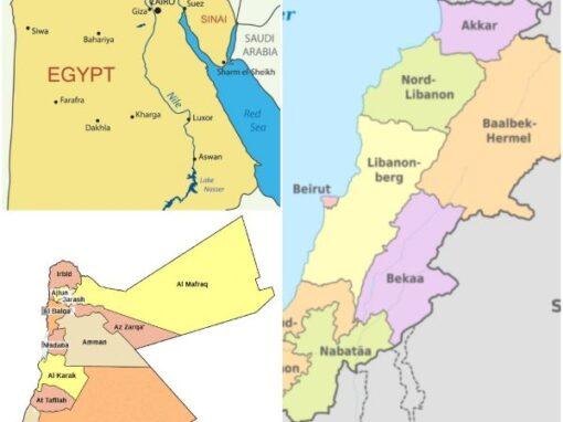 """LIBANO – GIORDANIA – EGITTO """"Promuovere l'empowerment economico e sociale delle donne vulnerabili in Libano, Giordania e Egitto"""""""